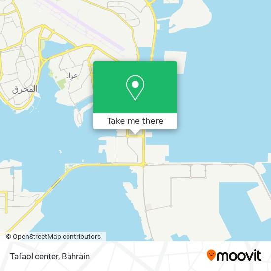 Tafaol center map