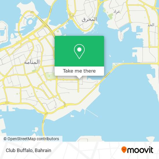 Club Buffalo map