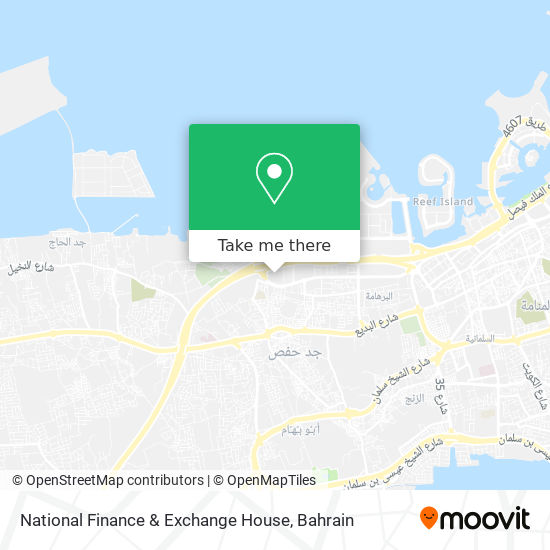 National Finance & Exchange House map