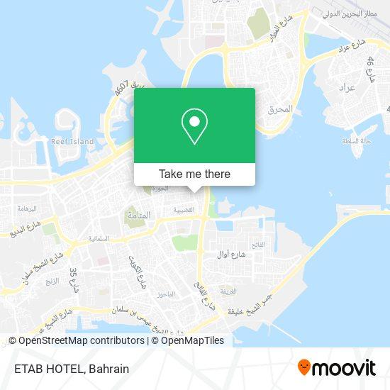 ETAB HOTEL map