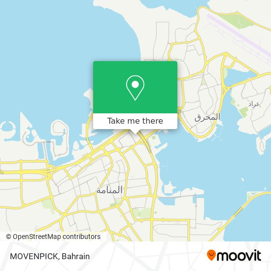 MOVENPICK map