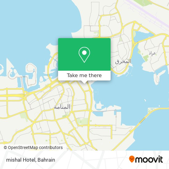 mishal Hotel map