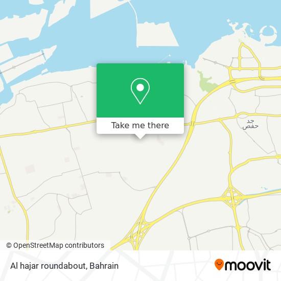 Al hajar roundabout map