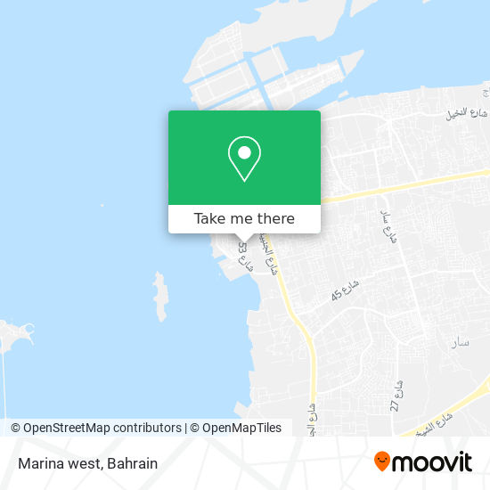 Marina west map
