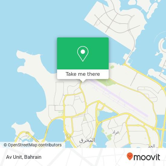 Av Unit map
