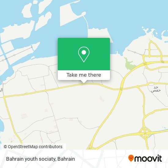 Bahrain youth sociaty map