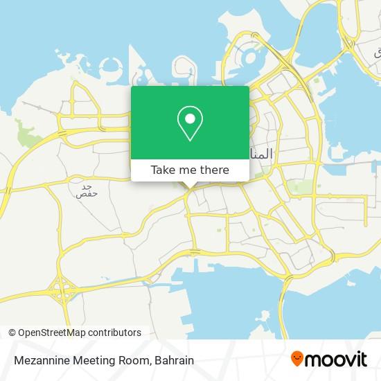Mezannine Meeting Room map