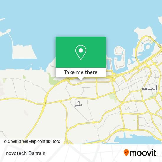 novotech map