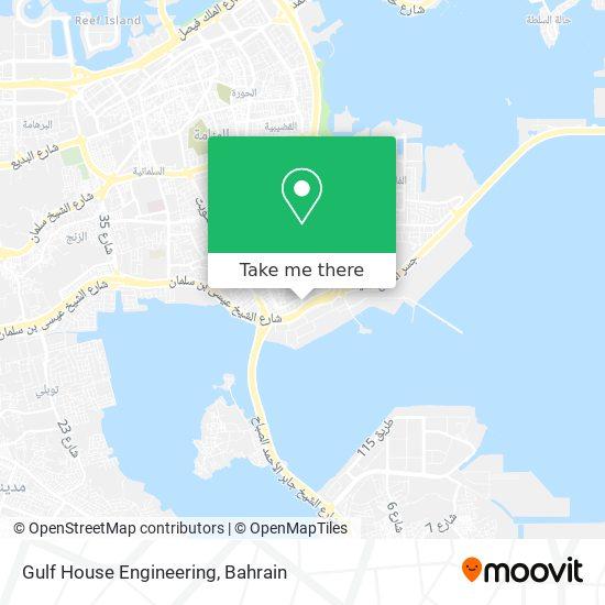 Gulf House Engineering map