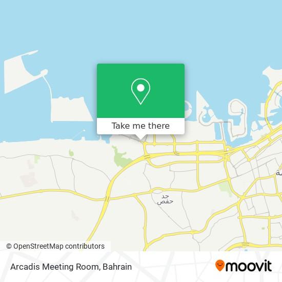 Arcadis Meeting Room map