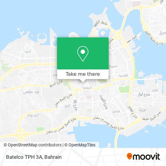 Batelco TPH 3A map
