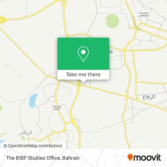 The BIBF Studies Office map