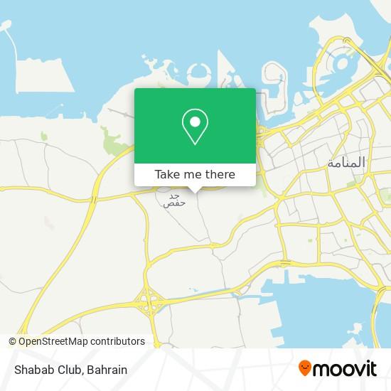 Shabab Club map