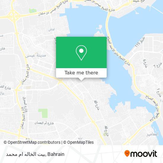 بيت الخاله ام محمد map