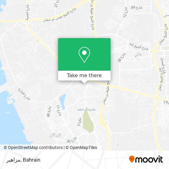 مزاهير map