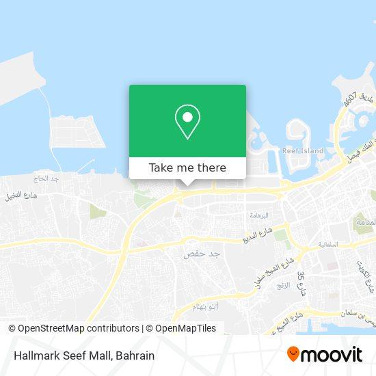 Hallmark Seef Mall map