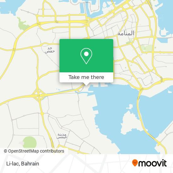 Li-lac map