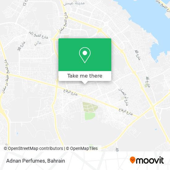 Adnan Perfumes map