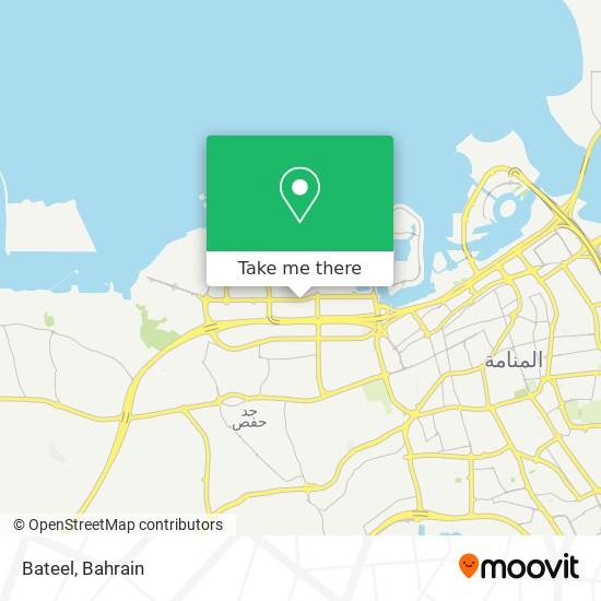 Bateel map