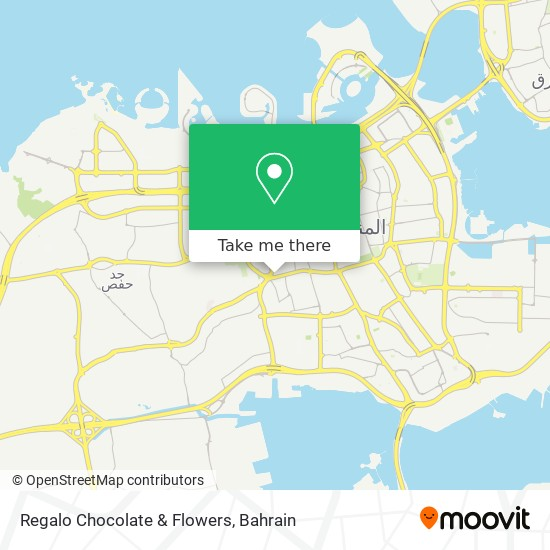 Regalo Chocolate & Flowers map