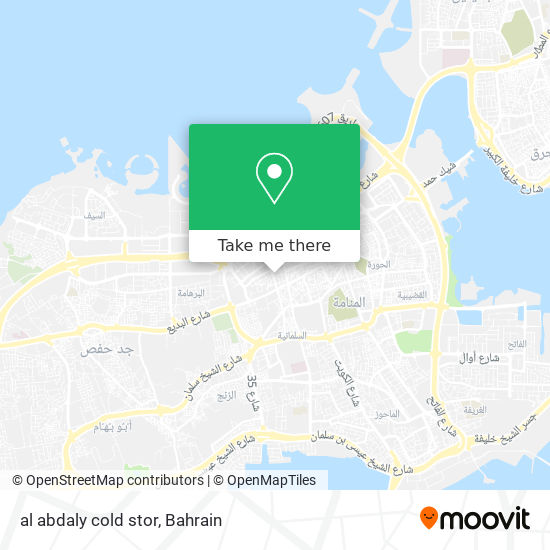 al abdaly cold stor map