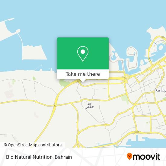 Bio Natural Nutrition map