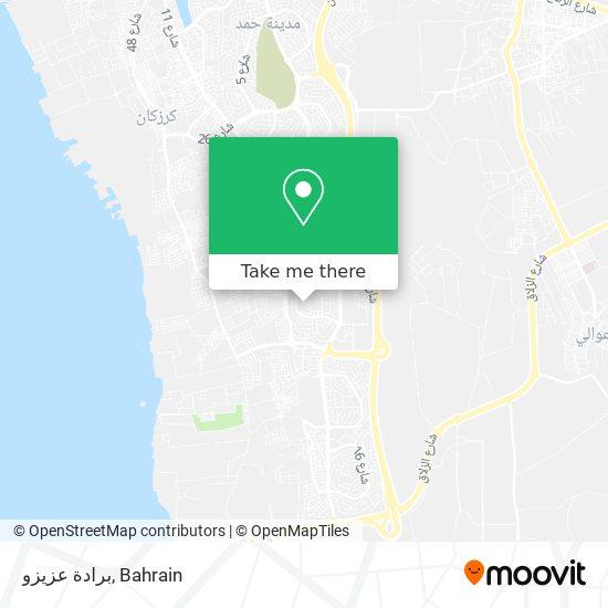 برادة عزيزو map