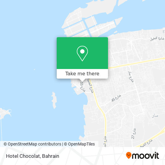 Hotel Chocolat map