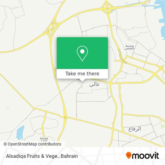 Alsadiqa Fruits & Vege. map
