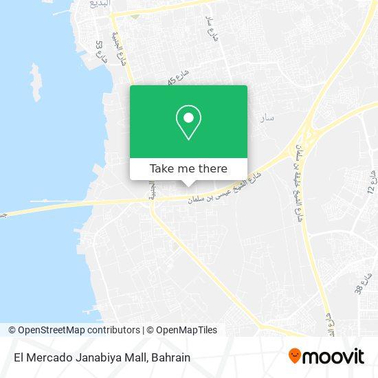 El Mercado Janabiya Mall map