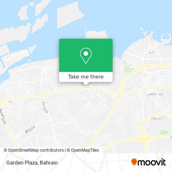 Garden Plaza map