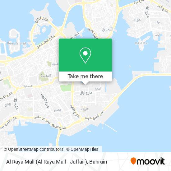 Al Raya Mall map
