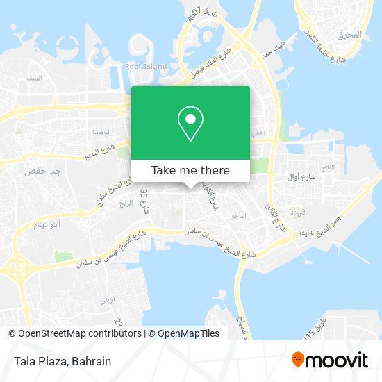 Tala Plaza map