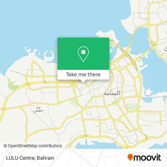 LULU Centre map