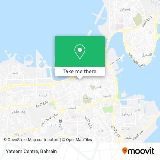 Yateem Centre map