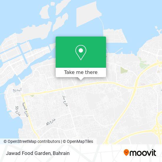 Jawad Food Garden map