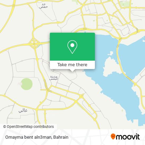 Omayma bent aln3man map