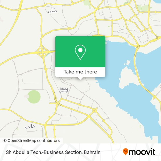 Sh.Abdulla Tech.-Business Section map