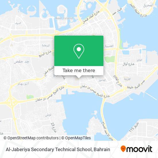 Al-Jaberiya Secondary Technical School map