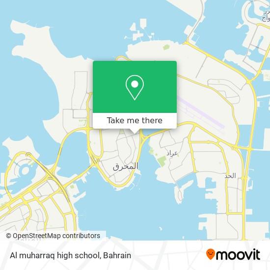 Al muharraq high school map