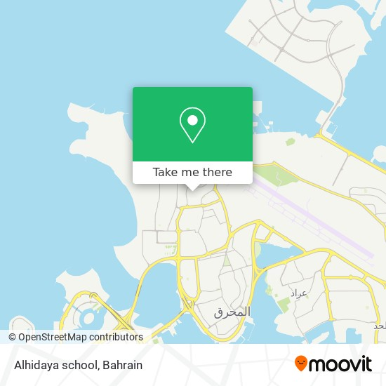 Alhidaya school map