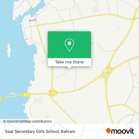 Saar Secondary Girls School map