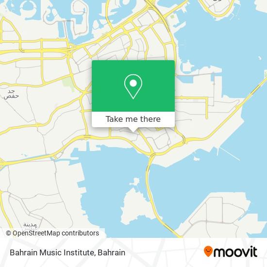 Bahrain Music Institute map
