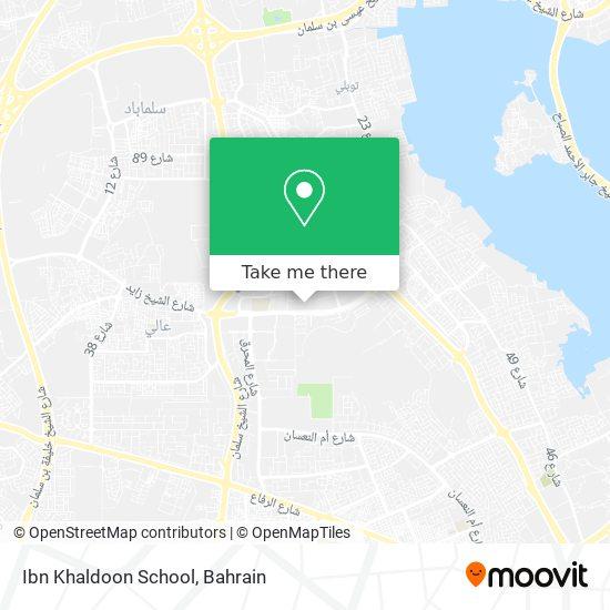 Ibn Khaldoon School map