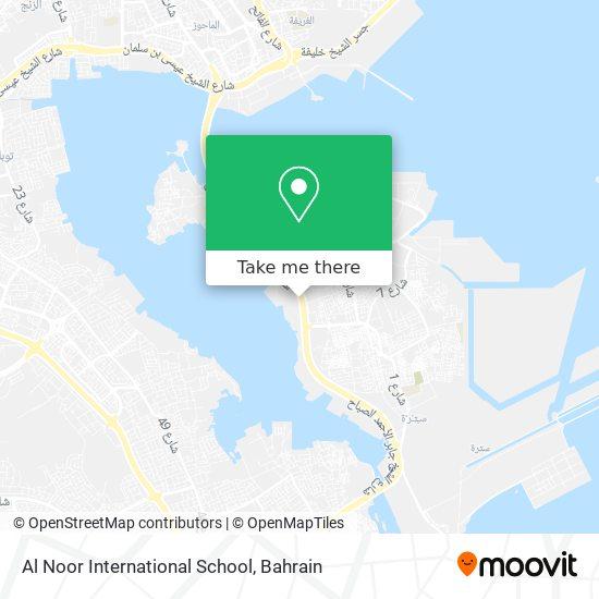 Al Noor International School map