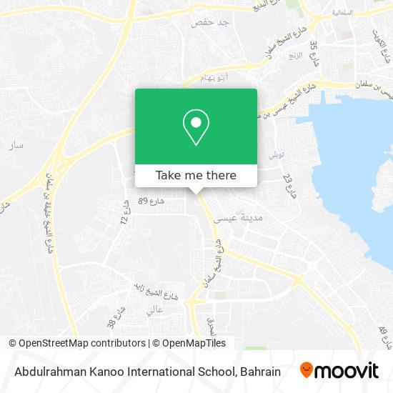 Abdulrahman Kanoo International School map