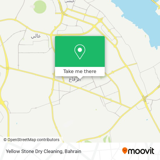 Yellow Stone Dry Cleaning map