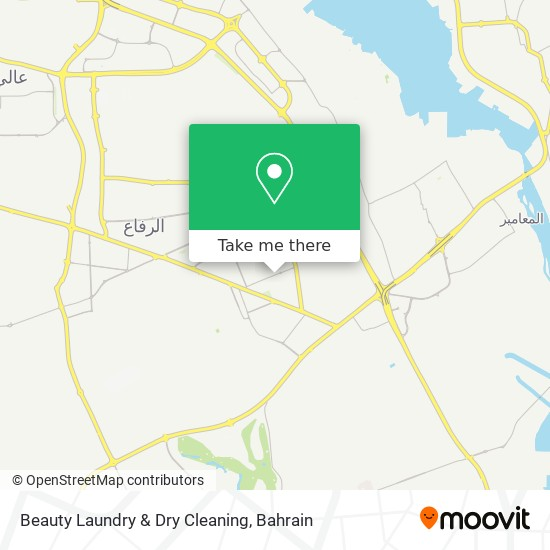 Beauty Laundry & Dry Cleaning map