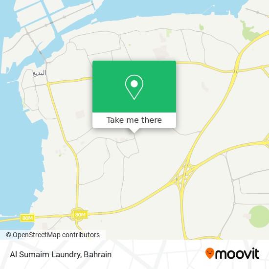 Al Sumaim Laundry map