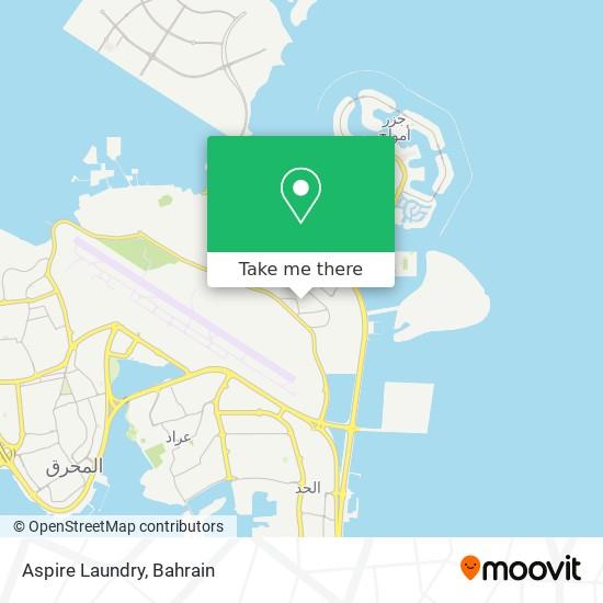 Aspire Laundry map
